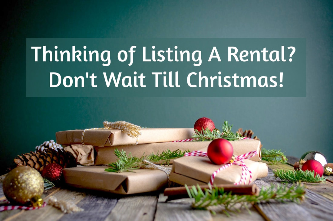 Listing a Rental Property - Don't Wait Till Christmas - Carnelian Property Management Newcastle