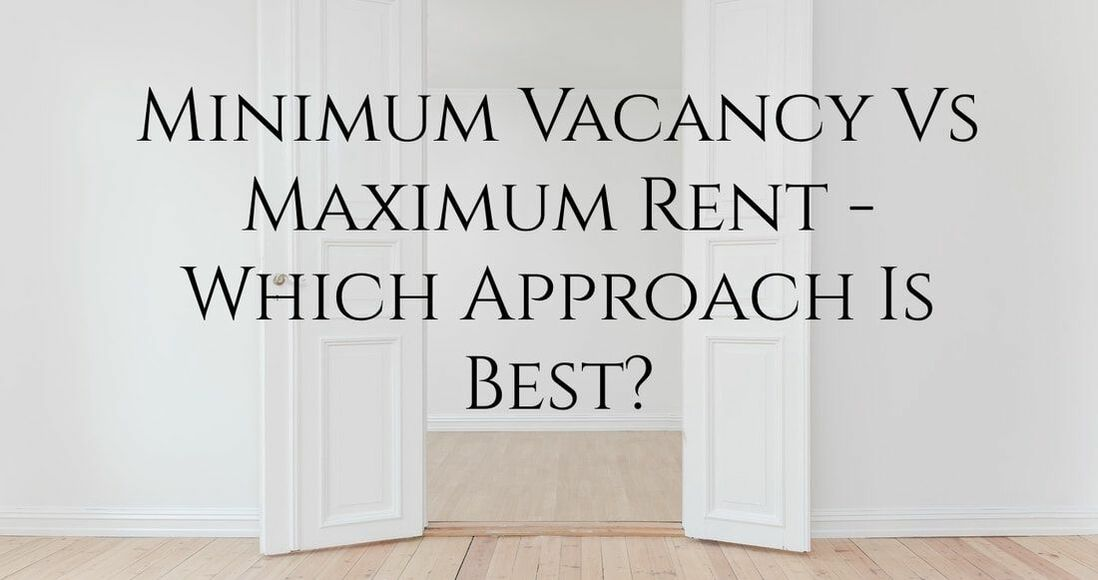 minimum vacancy vs maximum rent - carnelian property management newcastle