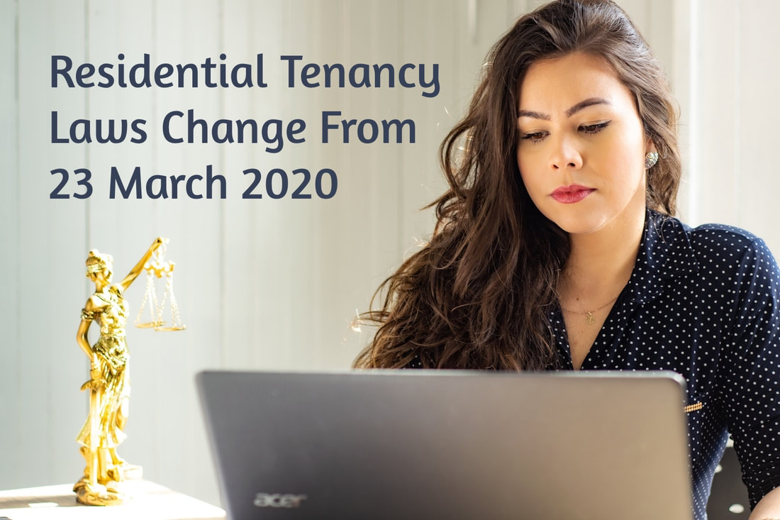 What Are The Changes To Residential Tenancy Laws In NSW Which Start on 23 March 2020 - carnelian property management
